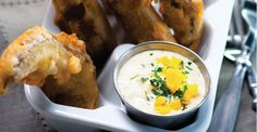 Boiler Maker Battered Portobello Fries with Gribiche Sauce Recipe Primary