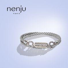 #Nenjujewels présente son #bijoux  #Solid,#bracelet mixte en #argentmassif (925 millièmes).