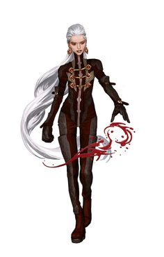 Fantasy Character Design, Character Design Inspiration, Character Concept, Character Art, Character Ideas, Dnd Characters, Fantasy Characters, Female Characters, Blood Mage