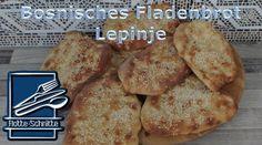 Lepinje - Bosnisches Fladenbrot - Rezept von Flotte Schnitte French Toast, Breakfast, Food, Milk, Dinner Rolls Recipe, Water, Bakken, Morning Coffee, Essen