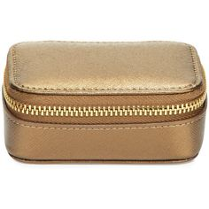 Neiman Marcus Small Leather Pill Case (445 MAD) ❤ liked on Polyvore featuring bags, handbags, shoulder bags, bronze, real leather handbags, leather handbags, 100 leather handbags, neiman marcus handbags and leather purses
