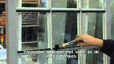 Aanbrengen vervanger klassieke stopverf: Elastische stoppasta  Bloem Sea...
