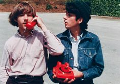 The Monkees, Peter Tork and Mike Nesmith #themonkees #petertork #mikenesmith