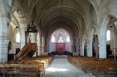 Nef de l'église St-Saturnin de Blois
