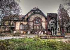 The Beelitz Heilstatten Military Hospital was used as a sanatorium during both World Wars