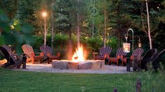 Outdoor Firepit tranquility provided by Four Seasons Hotels and Resorts of Jackson Hole, Wyoming. I would never leave . . . this would be my new reality:)