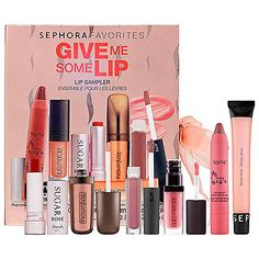 Bestselling Holiday Gift Pick: #SEPHORA FAVORITES Give Me Some Lip - $25 #sephorasweeps