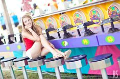 carnival senior shoot