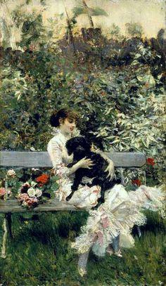 In giardino di Giovanni Boldini