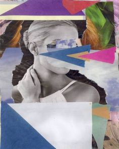 "Saatchi Art Artist Claudio Parentela; Collage, ""PAINTING815"" #art"