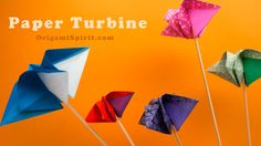 Origami tutorial and video instruction on how to make an origami turbine. With permission from designer David Donahue. SUBTÍTULOS EN ESPAÑOL • Leyla Torres O...