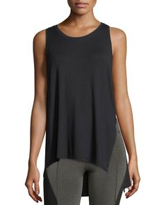 M//L Aurum Womens Black Wisdom Tank
