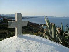Griechische Ostern bedeutet auch, wenn die Kirche ein Ort für Urlaub ist.