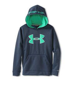 Under Armour Kids Boys' Armour® Fleece Storm Big Logo Hoodie (Big Kids)