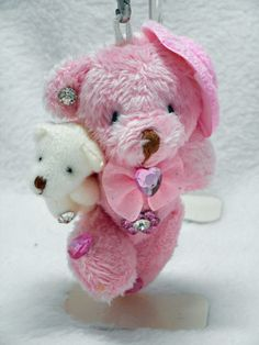 Teddy bear Plush Strap (Friends/Pink) #Unbranded #AllOccasion