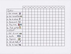 Routines for the Kids  http://smallnotebook.org/2012/04/03/routines-for-the-kids/ this chart has helped with the homework battle. My kid loves it too. Thanks Rachel Meeks!