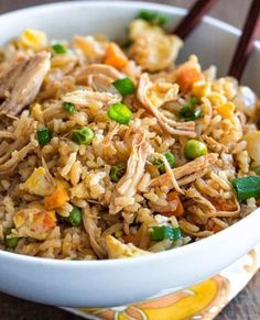 Better-than-Takeout-Chicken-Fried-Rice #best recipe to try