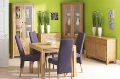 Corndell Nimbus Compact Oak furniture in Satin finish