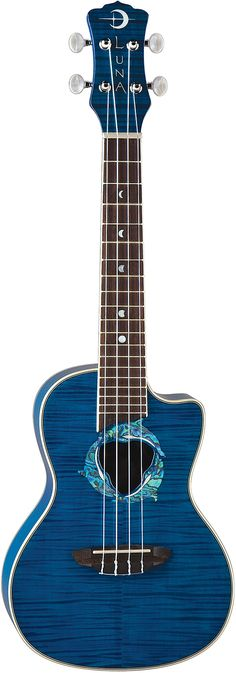 Luna Dolphin ukulele. I'm thinking this is going to be  my Christmas present to myself