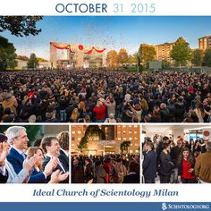 Today we celebrate the dedication of the Ideal Church of Scientology Milan on this day in 2015.