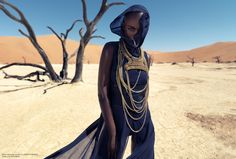 Christoph Köstlin - those without Shadows // 07 // Namibia // Sossusvlei // desert editorial // fashion editorial // black skin // fashion model // african model // south africa