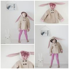 Bunny Coat | Amazing Children's Clothes You Wish Came In Adult Sizes