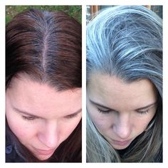 Assumir cabelo branco