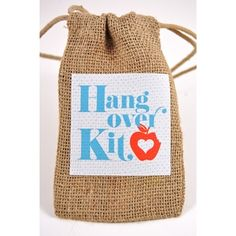Hangover Helper Kit. Lots of cute stuff on this site.