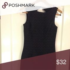New Unworn H&M Sheath Dress NEW with Tags!  Zippered back, fully lined, never worn, slight sheen to fabric. Gorgeous! Size 4.   Rock it with some strappy heels with a blazer for day to night!  Proceeds benefit Second World Foundation  H&M Dresses Mini