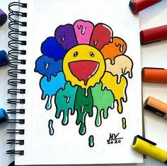 Easy Graffiti Drawings, Graffiti Doodles, Cool Art Drawings, Art Drawings Sketches, Cute Doodle Art, Doodle Art Designs, Doodle Art Drawing, Doddle Art, Dark Souls Art