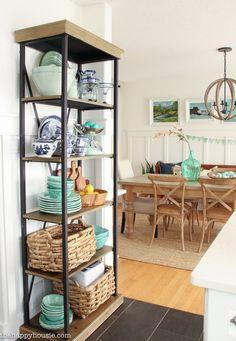 Coastal Cottage Style Spring Kitchen Tour