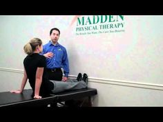 Chad Madden of Madden PT in Harrisburg, PA, demonstrates 3 basic exercises for sciatica and pinched nerves.    www.maddenpt.com    Madden Physical Therapy  5425 Jonestown Road  Harrisburg, PA  17112    717-901-9487