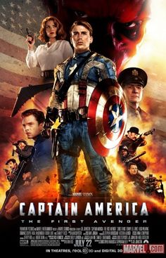 Captain America: the first avenger. I've finally started watching the marvel universe films. Quite enjoying them.