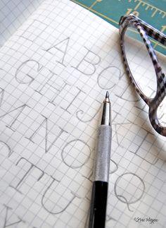 elvie studio: inspiration monday - lettering tutorials
