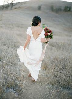 The Patricia dress back | Lena Medoyeff Studio | Bridal | Portland, Oregon | Samantha Kirk photography
