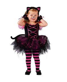 Nouveau Enfants Halloween costume Mignon filles vêtements Chaton chat  Costume comprend TUTU robe Bandeau 2 pièce fille De Bal Animal Cosplay dans  Robes de ... ee58532060ac
