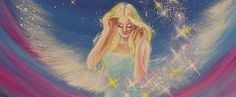 Limited angel art photo breeze of happiness , modern angel painting, artwork, perfect for frame. €10.00, via Etsy.