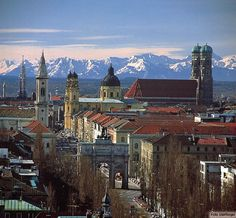 This is where I was born - in Munich, Germany :)