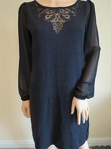MONSOON Ladies Tunic Dress Size Medium 12 14 Black BNWT   eBay
