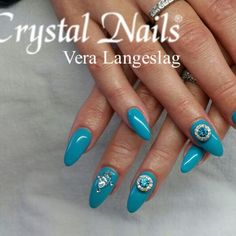 Crystalac GL50 with a little bit of bling. Love this color.