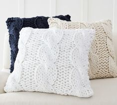 Find throw and accent pillows from Pottery Barn to easily update your space. Shop our pillow collection to find decorative pillows in classic styles, prints and colors. Ms Project, Grunge Room, Pillow Texture, Knit Pillow, Furniture Slipcovers, Tv Decor, Fabric Sofa, Decorative Pillows, Pottery Barn Throw Pillows