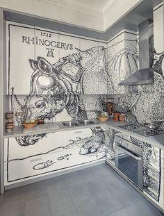 interior architecture and design Interior Design Kitchen, Interior And Exterior, Kitchen Decor, Interior Decorating, Kitchen Ideas, Küchen Design, Home Design, Interior Inspiration, Home Kitchens