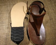 LEATHER SANDALS / Leather Handmade Sandals / Unisex  Sandals /  Female u.s # 12 // Male u.s # 10.5 to Female u.s # 14 // Male u.s # 12.5