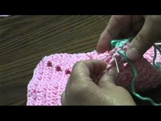 Joining squares with a whipstitch