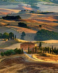 In Tuscany, Italy.