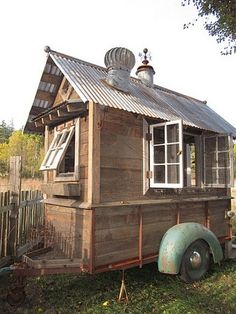 From the home front: Bob Bowling Rustics' tiny sheds; barn converted to small home | OregonLive.com