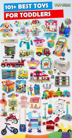 Browse our Toddler Gift Guide featuring 101+ Best Toddler Toys for boys and girls. From educational toys and unique gifts to toddler books, toddler gear, and more, we've got you covered with tons of great Birthday and Christmas gift ideas for toddlers. Make your toddler's Birthday or Christmas extra special with these delightful, top-rated picks they'll love. #toddlertoys #birthdaytoys #christmastoys #giftguide