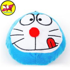 Petcircle Directing Selling Doraemon Plush Dog Toys For Chihuahua Puppy Chew Squeake Toy 12CM #Affiliate