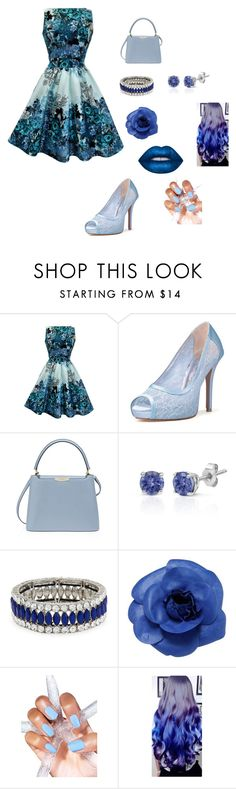 """34"" by lejlaidrizovic ❤ liked on Polyvore featuring Henri Bendel, Effy Jewelry, Kenneth Jay Lane, Chanel and Lime Crime"