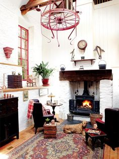 Beautiful restoration of an old Victorian Mill